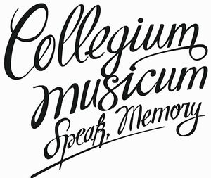 Collegium Musicum - Speak, Memory (cd+dvd) CD (album) cover