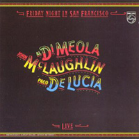 Al Di Meola - Friday Night In San Francisco CD (album) cover