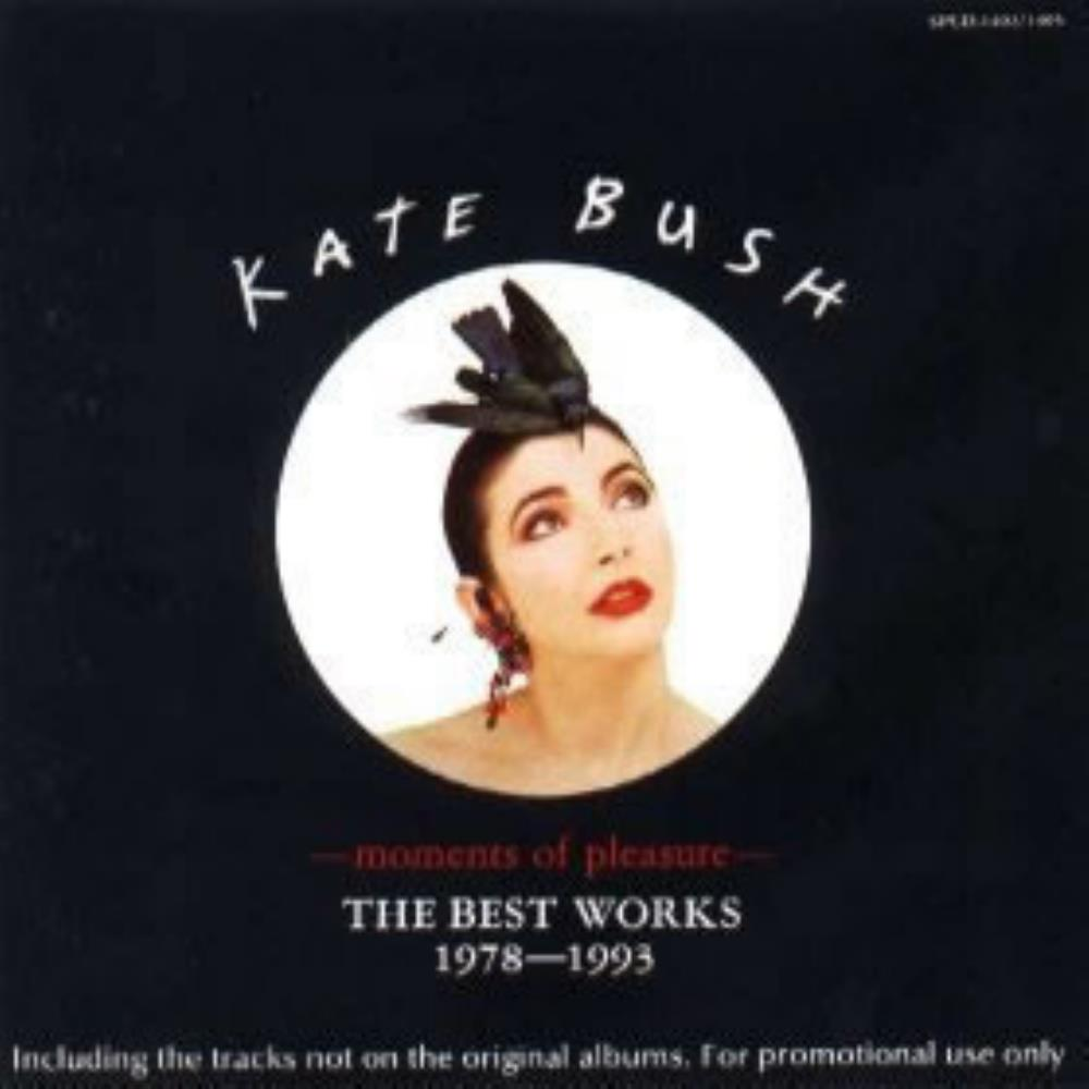 Kate Bush - Moments Of Pleasure - The Best Works 1978 - 1993 CD (album) cover