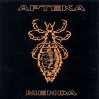 Apteka - Menda CD (album) cover