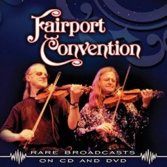 Fairport Convention - Rare Broadcasts CD (album) cover