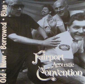 Fairport Convention - Old New Borrowed Blue CD (album) cover