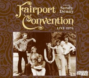 Fairport Convention - Live At My Father's Place 1974 CD (album) cover