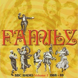 Family - Bbc Radio Volume 1 : 1968 � 69 CD (album) cover