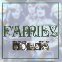 Family - Bbc Radio Volume 2 : 1971 - 1973 CD (album) cover