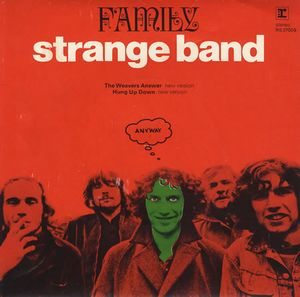 Family - Strange Band CD (album) cover