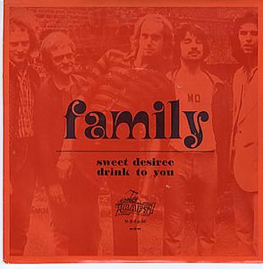 Family - Sweet Desiree CD (album) cover