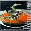 John Zorn - Aporias CD (album) cover