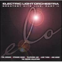 Electric Light Orchestra - Greatest Hits Live, Part II: The Encore Collection CD (album) cover