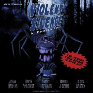 VIOLENT SILENCE - A Broken Truce CD album cover