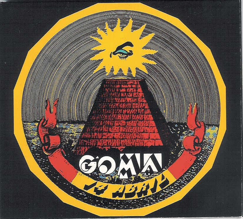 Goma - 14 De Abril CD (album) cover
