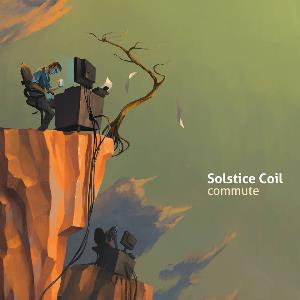 Solstice Coil - Commute CD (album) cover