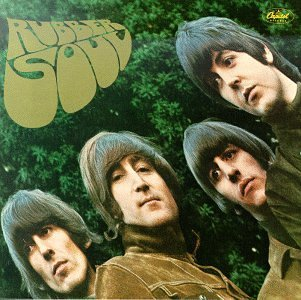 The Beatles - Rubber Soul CD (album) cover