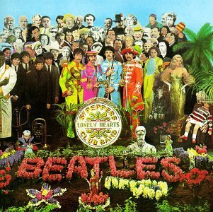The Beatles - Sergent Pepper's Lonely Heart Club Band CD (album) cover