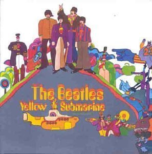 The Beatles - Yellow Submarine CD (album) cover