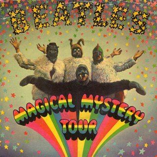The Beatles - Magical Mystery Tour CD (album) cover