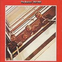 The Beatles - 1962-1966 CD (album) cover