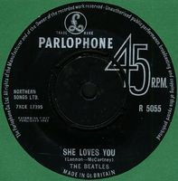 The Beatles - She Loves You CD (album) cover