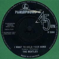 The Beatles - I Want To Hold Your Hand CD (album) cover