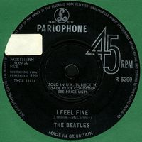 The Beatles - I Feel Fine CD (album) cover