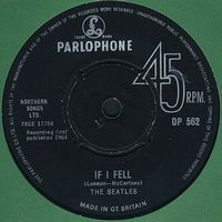 The Beatles - If I Fell CD (album) cover