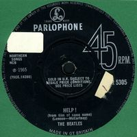 The Beatles - Help ! CD (album) cover