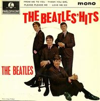 The Beatles - The Beatles Hits CD (album) cover