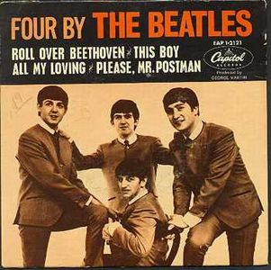 The Beatles - Four By The Beatles CD (album) cover