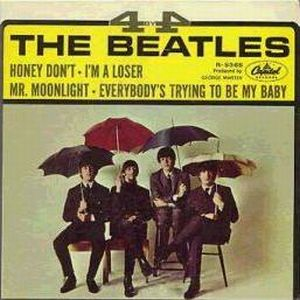 The Beatles - 4 By The Beatles CD (album) cover