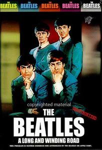 The Beatles - A Long And Winding Road DVD (album) cover