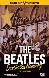 The Beatles - Destination Hamburg DVD (album) cover