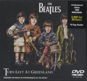 The Beatles - Turn Left At Greenland DVD (album) cover