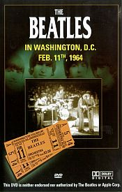 The Beatles - Washington D.c DVD (album) cover