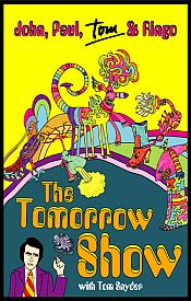 The Beatles - The Tomorrow Show With Tom Snyder DVD (album) cover