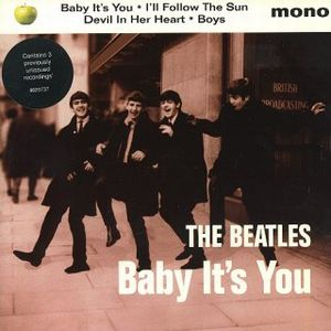 The Beatles - Baby It's You CD (album) cover