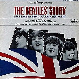 The Beatles - The Beatles' Story CD (album) cover