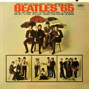 The Beatles - Beatles '65 CD (album) cover
