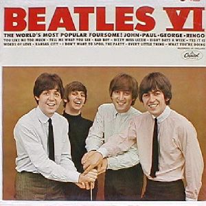 The Beatles - Beatles Vi CD (album) cover