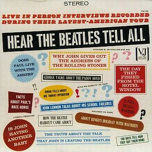 The Beatles - Hear The Beatles Tell All CD (album) cover