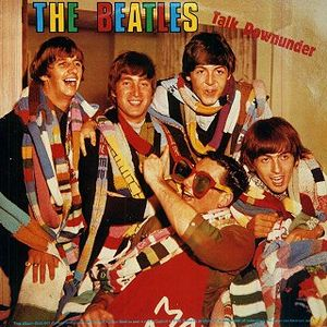 The Beatles - The Beatles Talk Downunder (1964) CD (album) cover