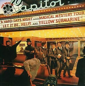 The Beatles - Reel Music CD (album) cover