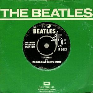 The Beatles - Yesterday CD (album) cover