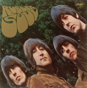 The Beatles - Rubber Soul (us) CD (album) cover
