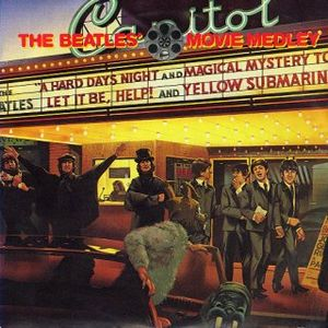 The Beatles - Movie Medley CD (album) cover