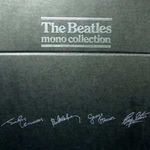 The Beatles - The Beatles Mono Collection CD (album) cover