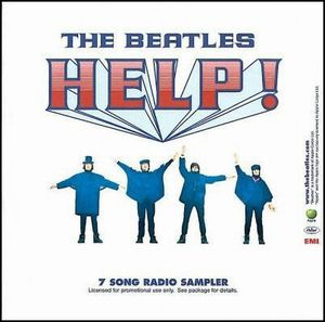 The Beatles - Help! (7 Song Radio Sampler) CD (album) cover