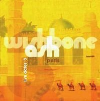WISHBONE ASH - Live Dates 3 CD album cover