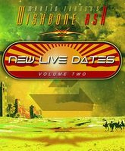 WISHBONE ASH - New Live Dates, Volume Two CD album cover