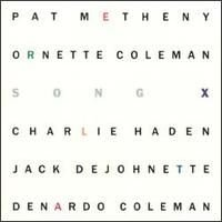 Pat Metheny - Song X CD (album) cover