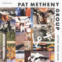Pat Metheny - Letter From Home CD (album) cover